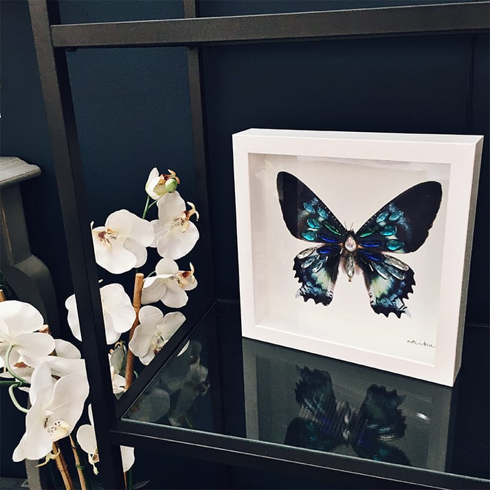 stylist live stand butterfly