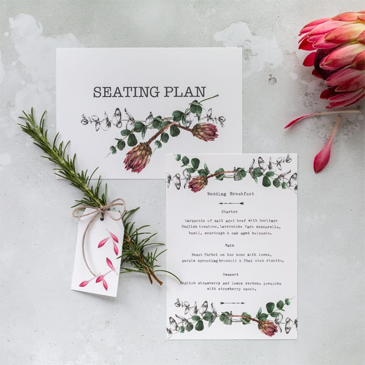 summer wedding seating plan